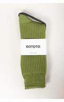 RoToTo Sock / Waffle / Olive