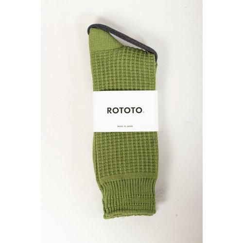 RoToTo RoToTo Sock / Waffle / Olive