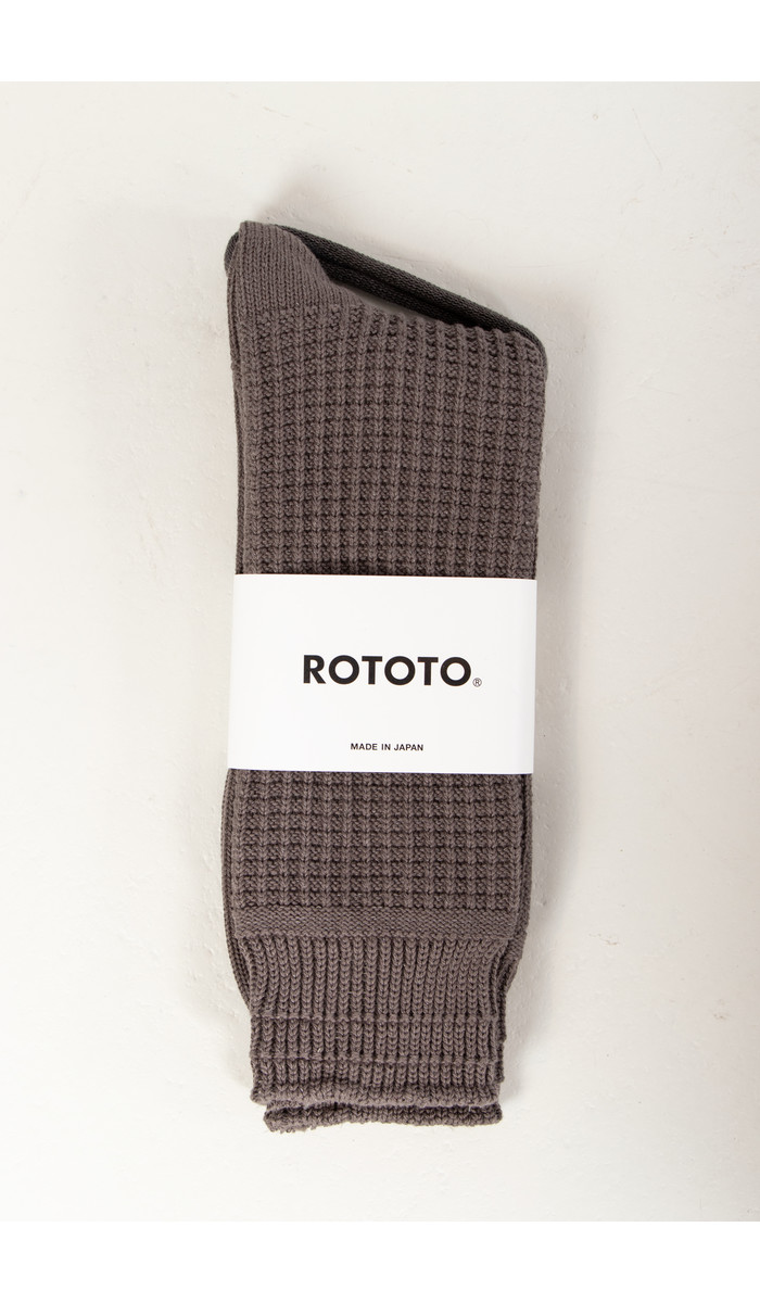 RoToTo RoToTo Sock / Waffle / Grey