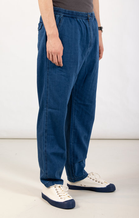 Universal Works Universal Works Trousers / Track Trouser /  L. Blue