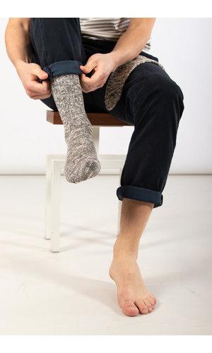 RoToTo RoToTo Sok / Gauge Slub / Midden grijs