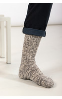 RoToTo Sock / Gauge Slub / Mid Grey