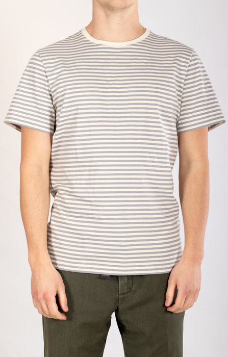 Organic Basics Organic Basics T-shirt / Grey Stripe