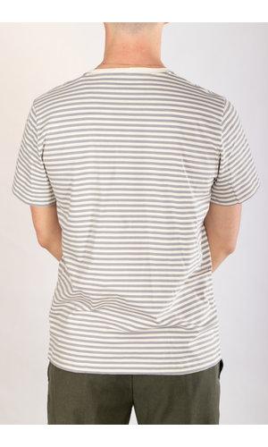Organic Basics Organic Basics T-shirt / Grijs Streep