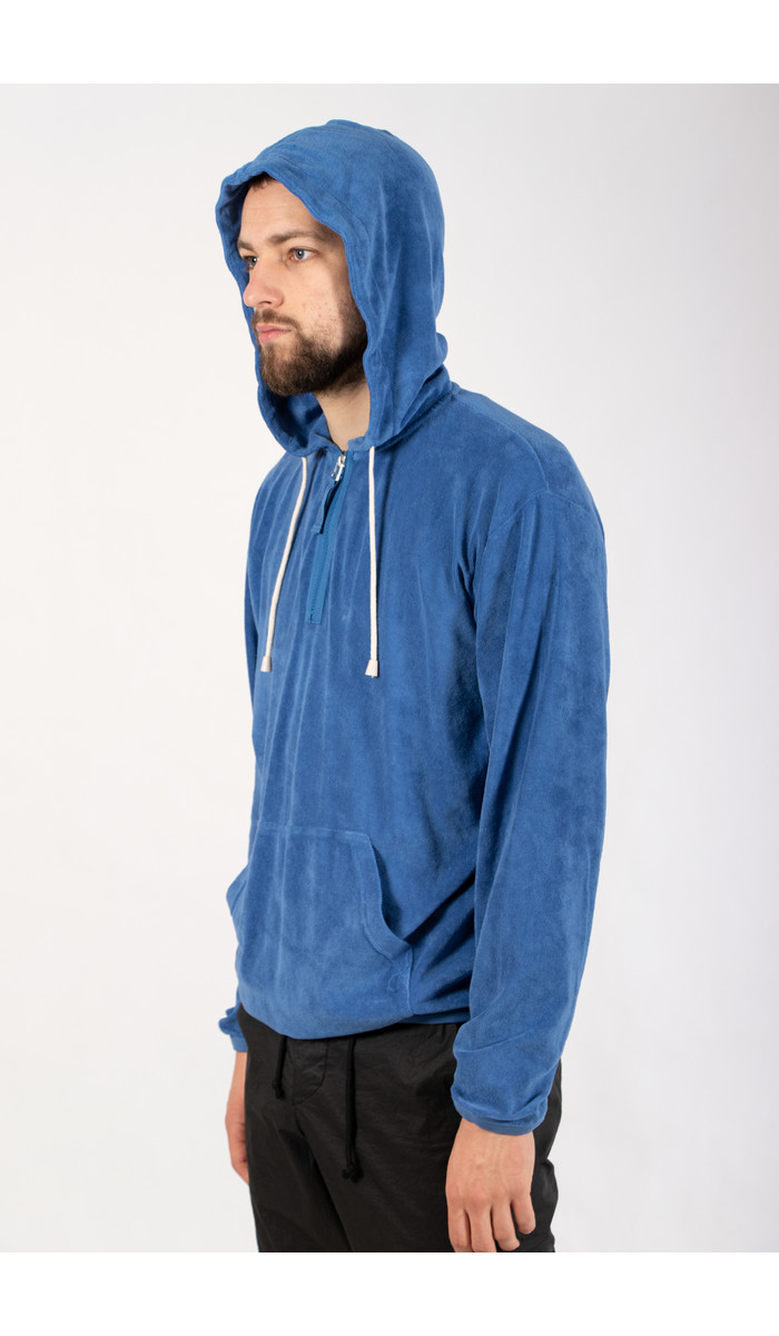 Universal Works Universal Works Sweater / Beach Hoody / Blue