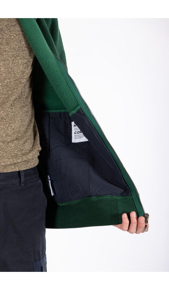 Homecore Homecore Vest / Terry Zip / Green