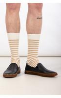 Universal Works Sock / Stripe Sock / Ecru