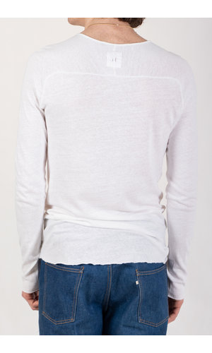 Hannes Roether Hannes Roether T-Shirt / Fabrice / Wit