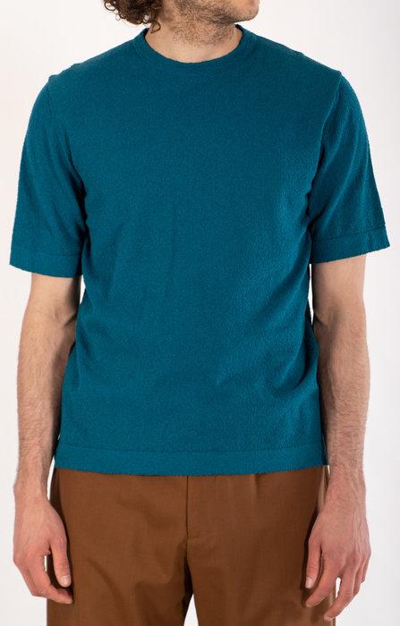 Mc Lauren Mc Lauren T-Shirt / Bert / Cyaan