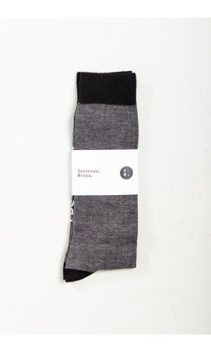 Universal Works Universal Works Sock / Classic Sock / Grey
