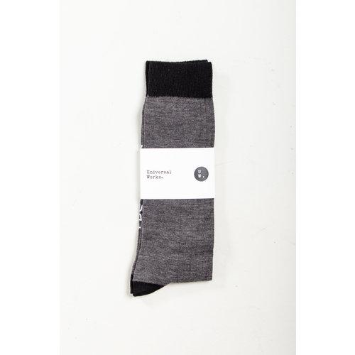 Universal Works Universal Works Sock / Classic Sock / Grey