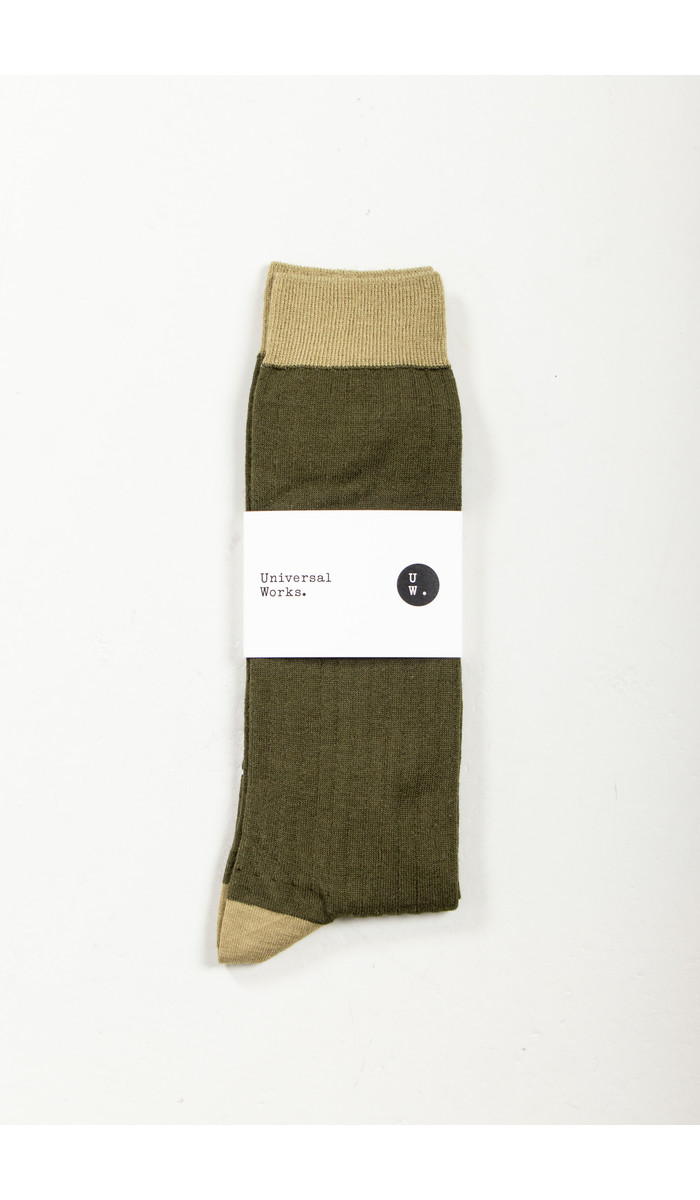 Universal Works Universal Works Sock / Classic Sock / Green
