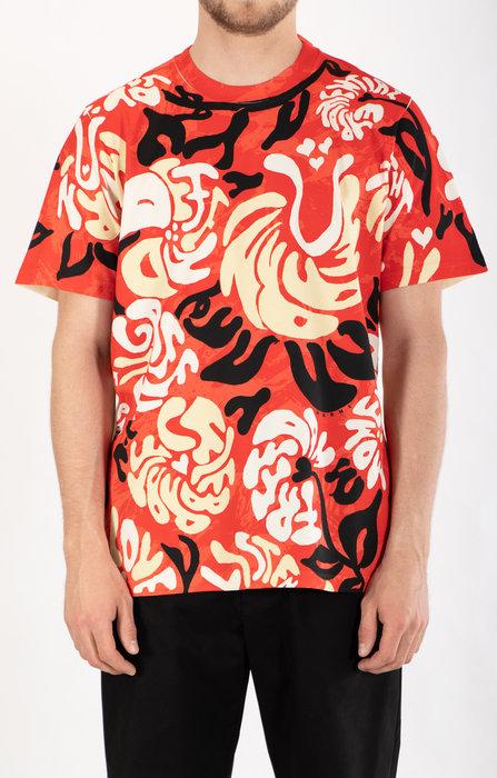Marni Marni T-Shirt / HUMU0221P0 / Rood