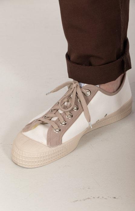 Novesta Novesta Sneaker / Star Master / Wit Grijs