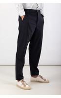 Universal Works Trousers / Military Chino / Navy Pinstripe