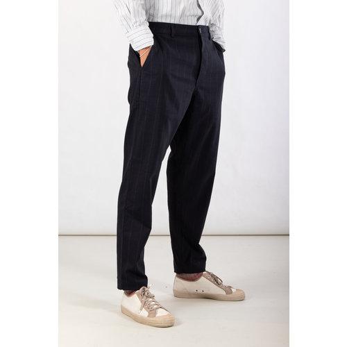 Universal Works Universal Works Trousers / Military Chino / Navy Pinstripe