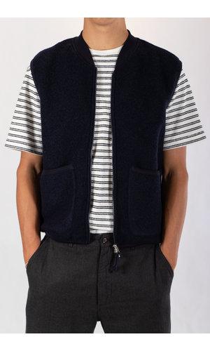 Universal Works Universal Works Vest / Waistcoat / Navy