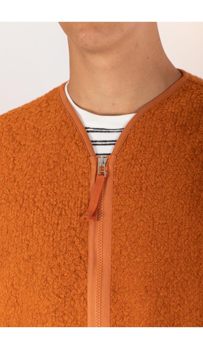 Universal Works Universal Works Vest / Zip Liner / Orange