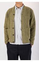 Universal Works Vest / Cardigan / Light Green