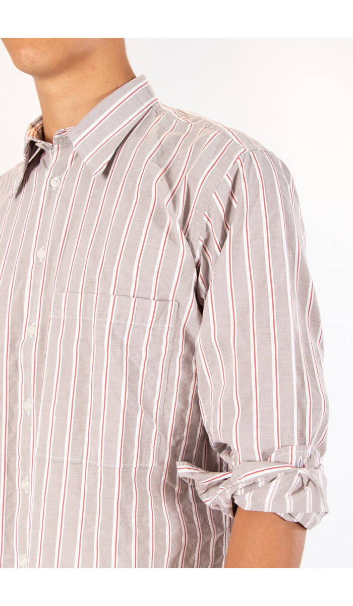 Universal Works Universal Works Overhemd / Big Pocket / Zand
