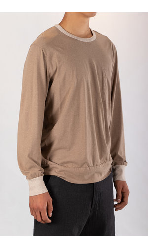 Universal Works Universal Works T-shirt / College Loose Pullover / Mergel