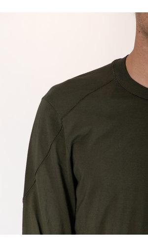 Transit Transit T-Shirt /CFUTRP1362 / Bosgroen