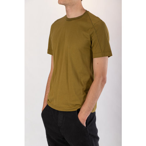 Transit Transit T-Shirt / CFUTRP1364 / Mosterdgroen
