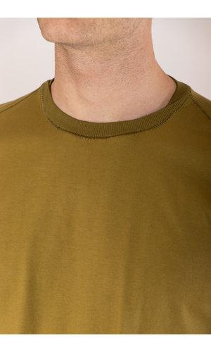 Transit Transit T-Shirt / CFUTRP1364 / Mustard