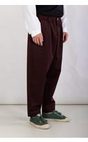 Marni Trousers / PUMU0017A0 / Burgundy