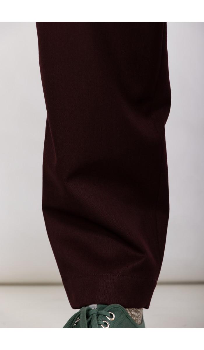 Marni Marni Broek / PUMU0017A0 / Bordeaux