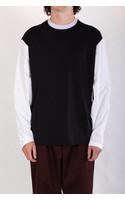 Marni T-Shirt / HUMU0181QS / Zwart Lila