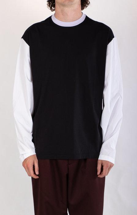 Marni Marni T-Shirt / HUMU0181QS / Zwart Lila