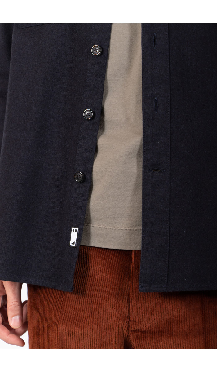 Mauro Grifoni Mauro Grifoni Overshirt / GL120033/27 / Navy