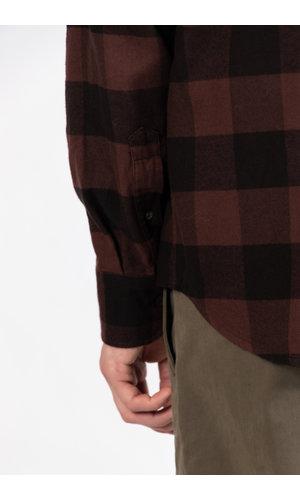 Mauro Grifoni Mauro Grifoni Overhemd / GL120013/9T / Bruin ruit