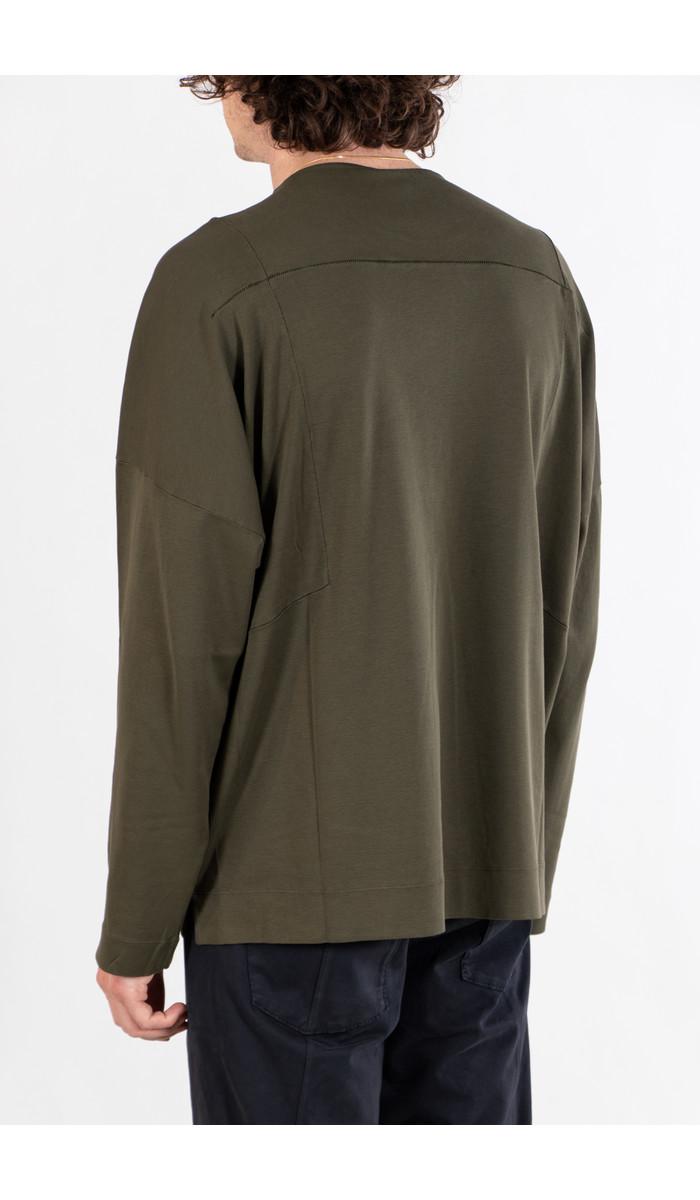 Transit Transit T-Shirt / CFUTRP2375 / Groen