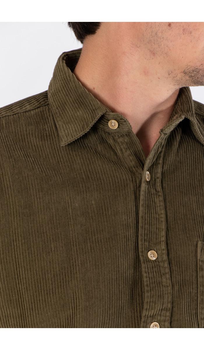 Portuguese Flannel Portuguese Flannel Overhemd / Lobo / Olijf