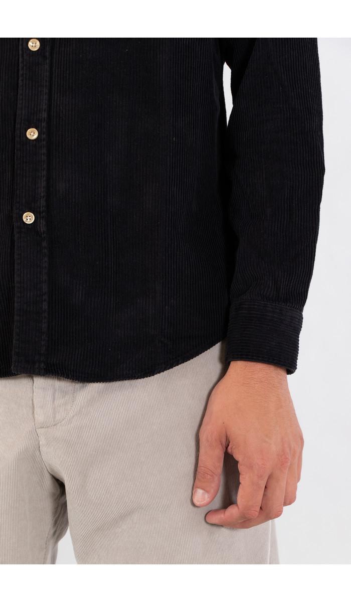 Portuguese Flannel Portuguese Flannel Overhemd / Lobo / Zwart