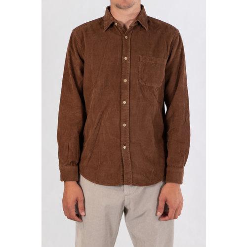 Portuguese Flannel Portuguese Flannel Overhemd / Lobo / Bruin