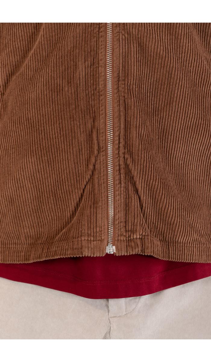 Portuguese Flannel Portuguese Flannel Jacket / Fecho / Hazelnut