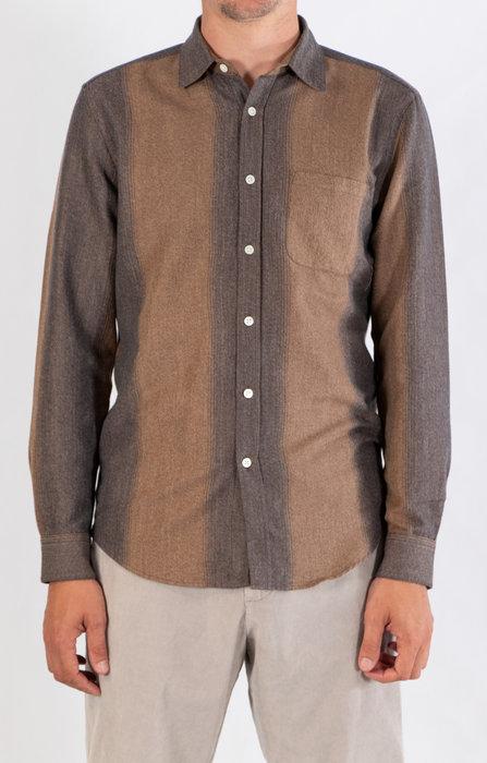 Portuguese Flannel Portuguese Flannel Shirt / Loop / Brown