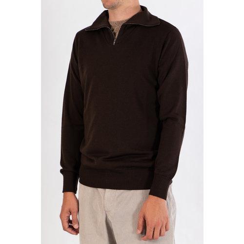 G.R.P. Firenze G.R.P. Sweater / SF TEC 1 / Brown