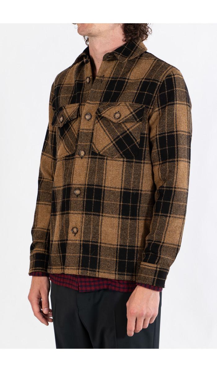 Portuguese Flannel Portuguese Flannel Jacket / Wood Side / Check