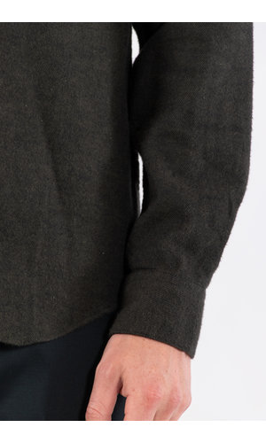 Portuguese Flannel Portuguese Flannel Overhemd / Teca / Mosgroen