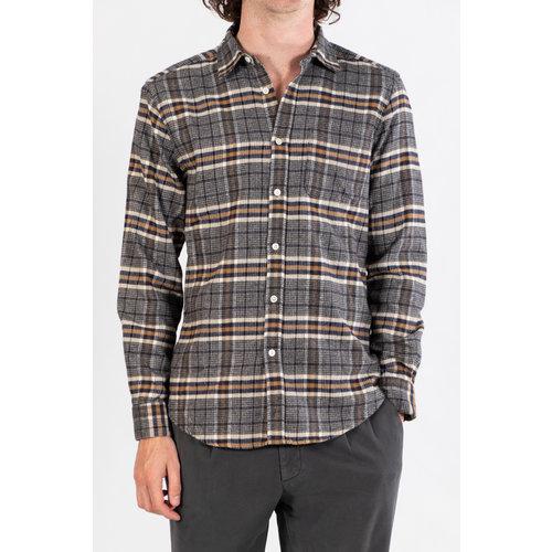 Portuguese Flannel Portuguese Flannel Overhemd / Biblitec / Navy