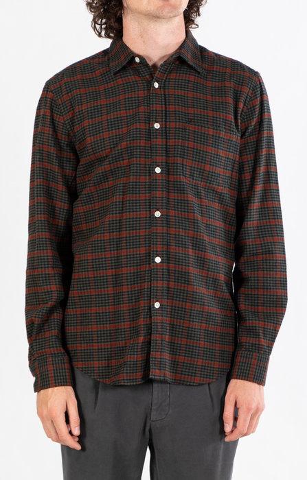 Portuguese Flannel Portuguese Flannel Overhemd / Coimbra / Groen