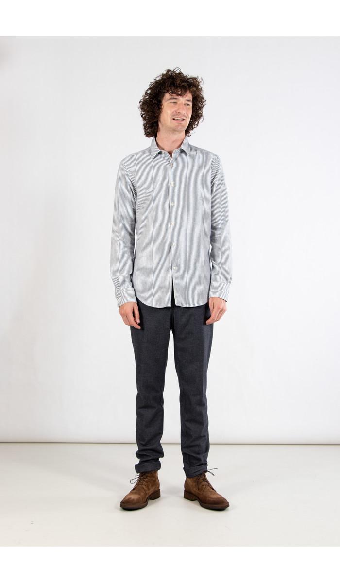 7d 7d Shirt / Fourty-Four / Blue Stripe