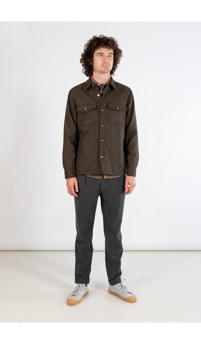 Portuguese Flannel Portuguese Flannel Jacket / Wool Field / Green