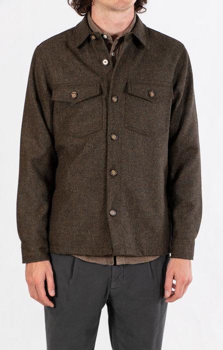 Portuguese Flannel Portuguese Flannel Jack / Wool Field / Groen