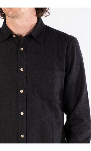 Portuguese Flannel Portuguese Flannel Overhemd / Teca / D. Grijs