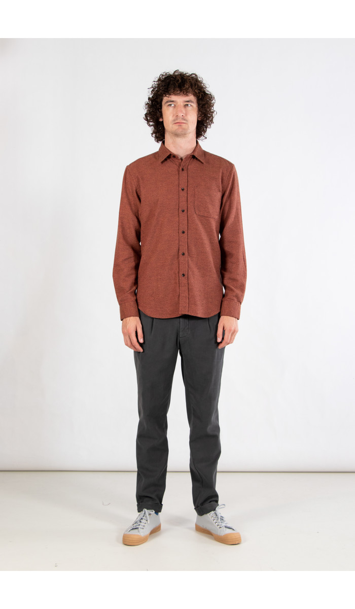 Portuguese Flannel Portuguese Flannel Shirt / Brick & Mortar / Brick